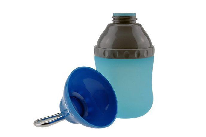 Trinkflasche mit Napf