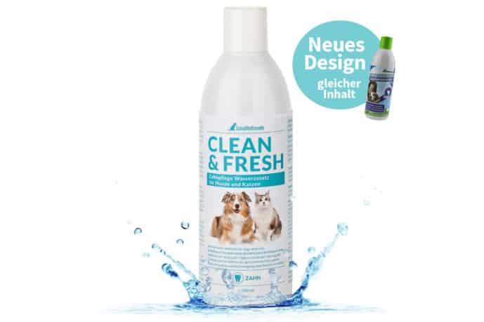 Zahnpflege Wasserzusatz für Hunde