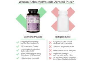 Zerotan Plus Wettbewerbsvergleich