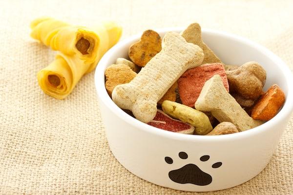 Hundesnacks ohne Getreide