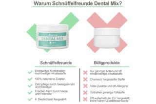 Dental Mix Wettbewerbsvergleich