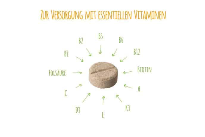 Zur Versorgung mit essentiellen B-Vitaminen